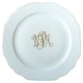 $64.00 Georgian Monogram Salad Plate